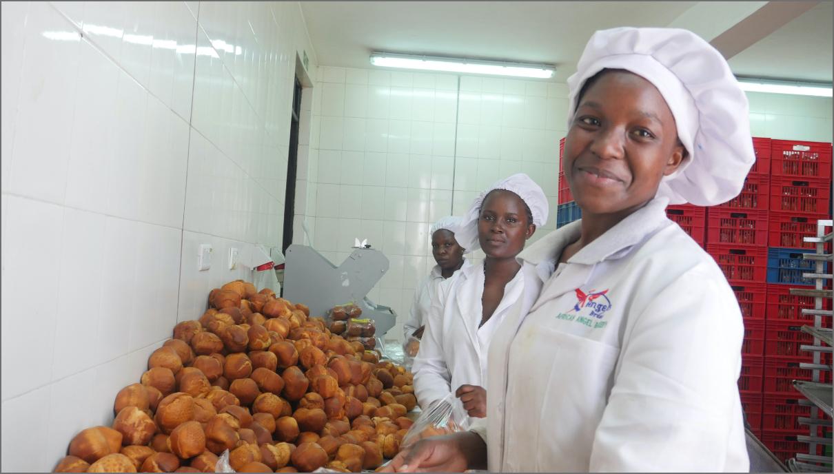 A bakery in the slums of Nairobi, Kenyadd